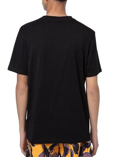 Hugo Boss  % 100 Pamuklu Bisiklet Yaka T Shirt Erkek T Shırt 50447980 001 Siyah